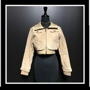Helium leather jacket